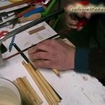 Taglio a misura dei pezzi di Canna
