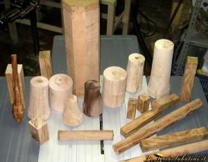 Preparazione legno